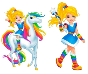 The new and improved (?) Rainbow Brite