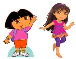 Dora - Then and now