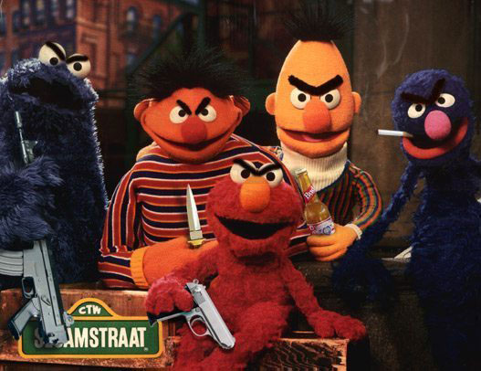 Sesame Street resists!