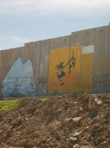 Qalandiya graffiti